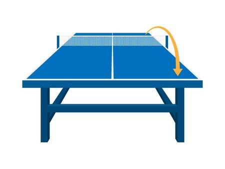 Table Tennis Illustrations