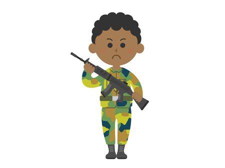 Army Illustration