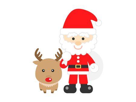 Santa Claus Illusztráció