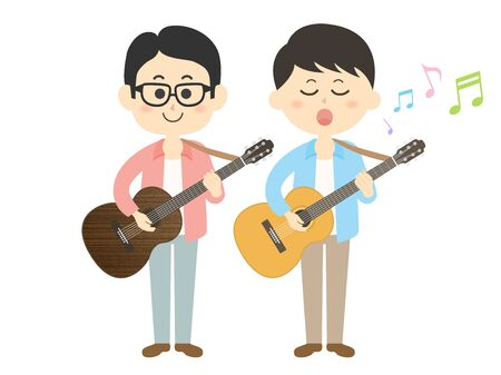 Musician Illustrations Иллюстрация