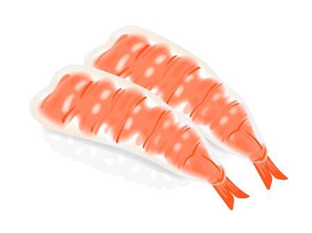 Shrimp Sushi