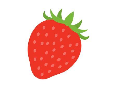 Illustration of the strawberry Illusztráció