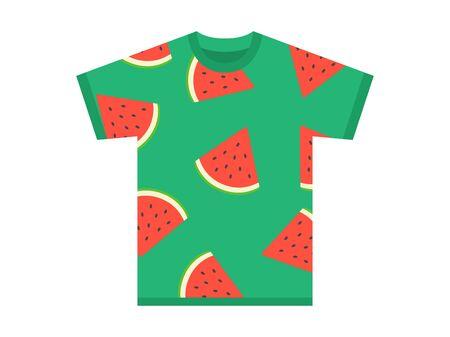 Summer Design T-Shirt  イラスト・ベクター素材