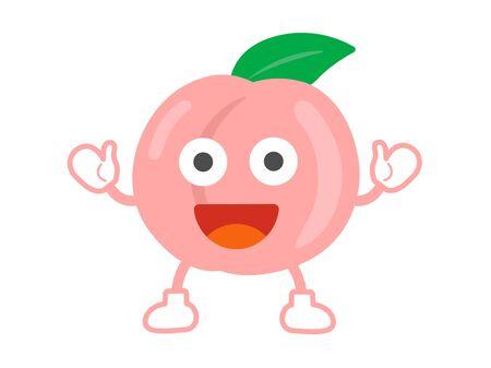 Peach Character