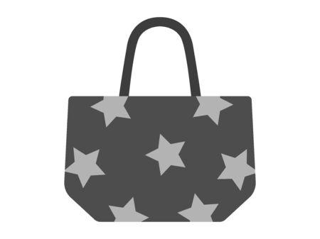 Tote bag  イラスト・ベクター素材