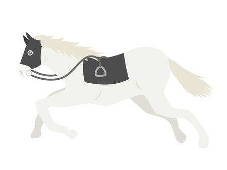Illustration of a racehorse Çizim