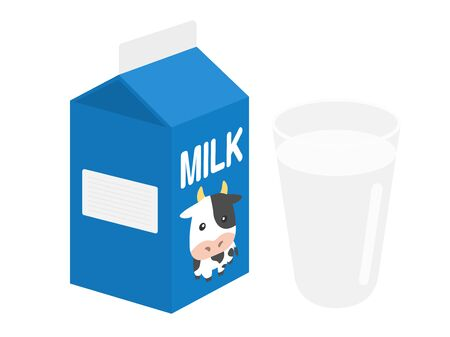 Milk Illustrations Stock Photo