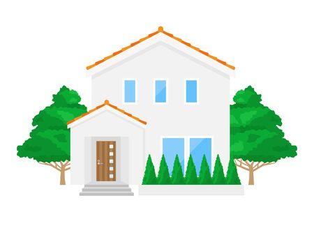 Illustration of the House Reklamní fotografie - 132046344