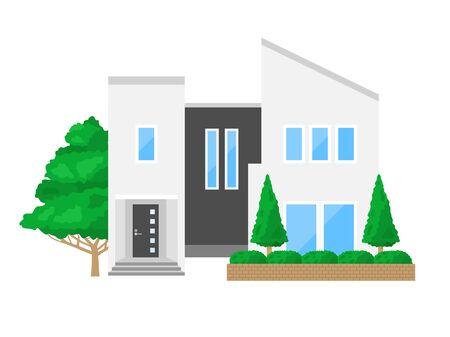 Illustration of the House Reklamní fotografie - 132045663