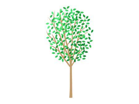 Tree clipart Reklamní fotografie - 132046327