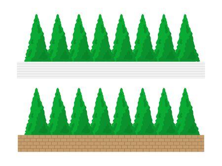 Tree Illustrations Reklamní fotografie - 132046542