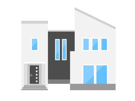 Illustration of the House Reklamní fotografie