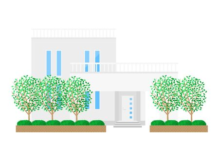 Illustration of the House Stockfoto