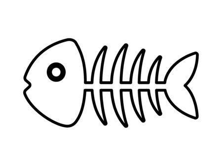 Fish bone 스톡 콘텐츠 - 130267676