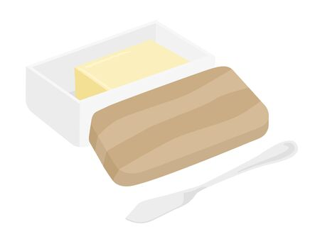 Butter and Butter Case Illustration