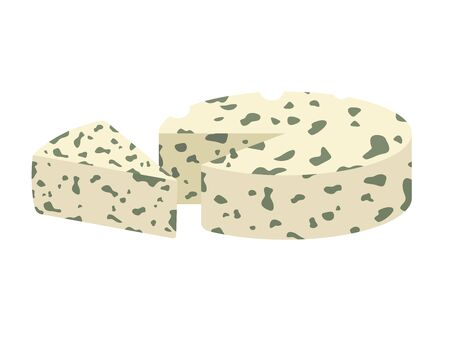Illustration of blue cheese