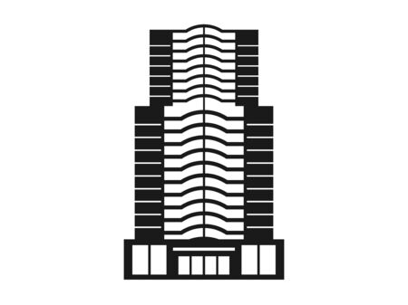 Icon illustration of the building