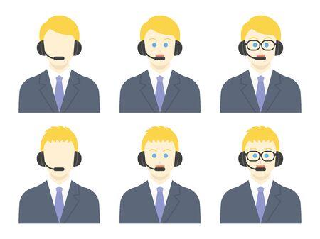 Operators illustrated set