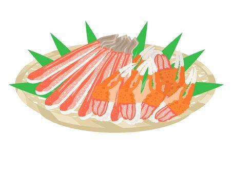 Illustration of the crab