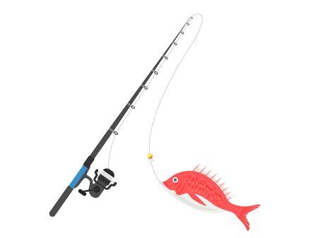 Illustration de la pêche Vecteurs
