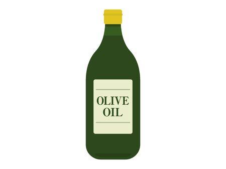 Illustration of olive oil