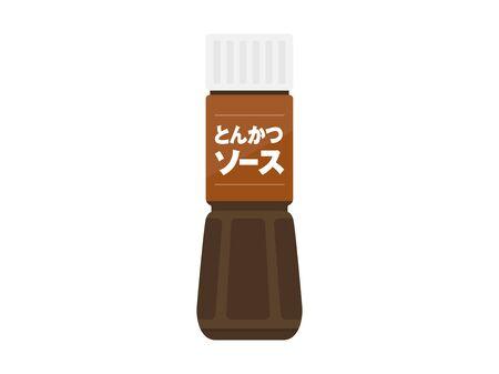 Illustration of Tonkatsu Sauce