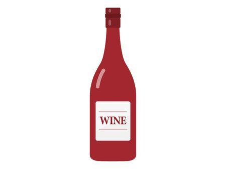 Red Wine Illustration 向量圖像