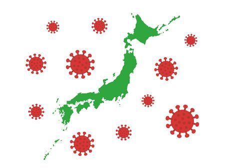 Virus infection in Japan