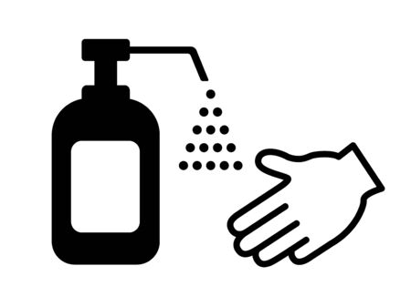 Disinfecting spray Illustration