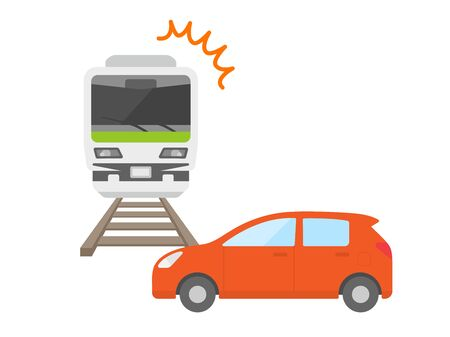 Train and car accidents