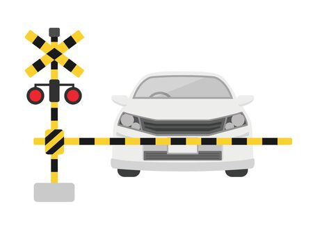 Level crossings and automobiles