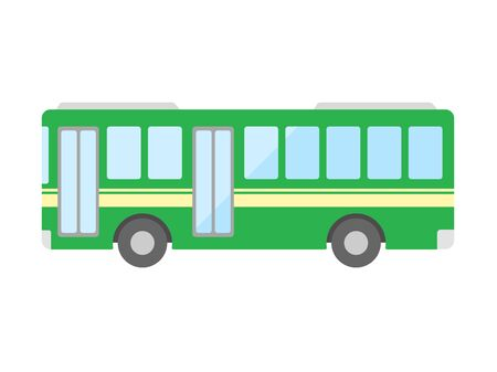 Bus illustration Vettoriali