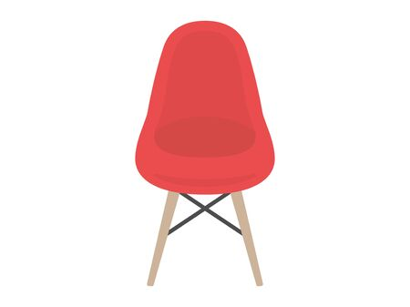 Illustration of a design chair