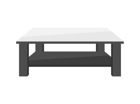 Illustration of a low table