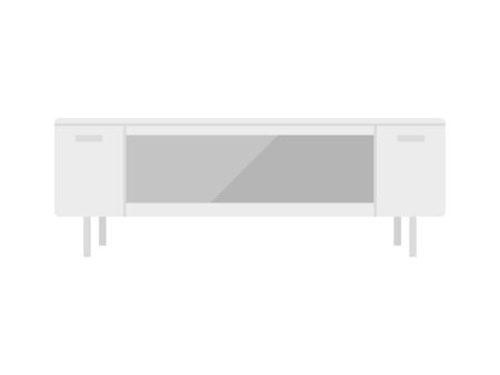 Illustration of the TV stand