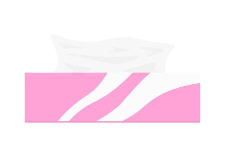 Illustration of box tissue
