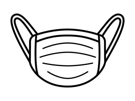 Illustration of a mask
