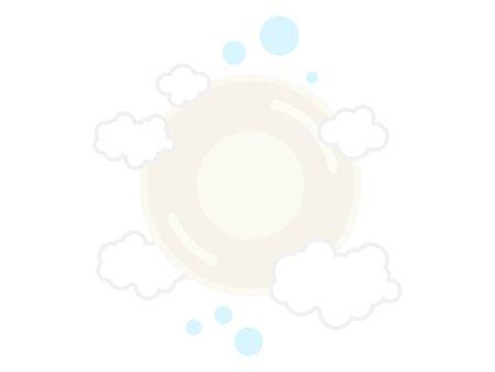 Circular Soap Illustrations Standard-Bild - 142607871