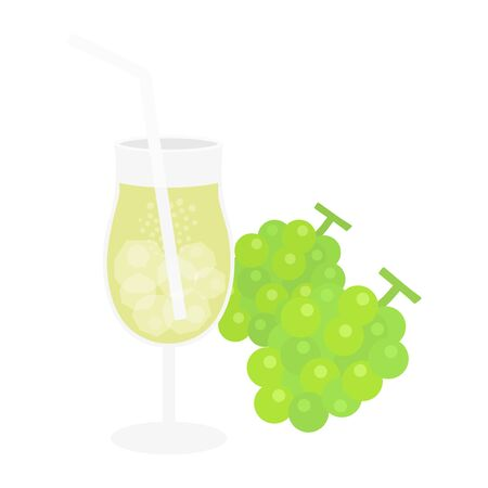 Muscat Juice Illustrations
