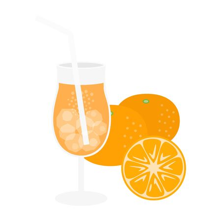 Orange Juice Illustrations