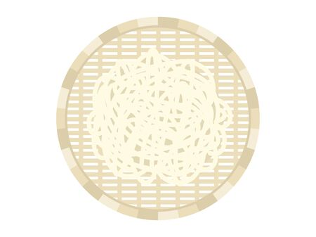 Illustration of Udon Noodles