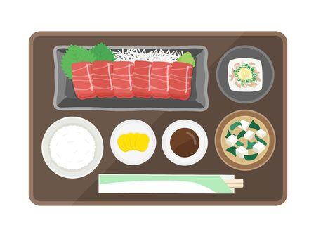 Tuna Sashimi Set Meal