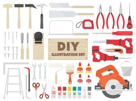 DIY Tool Illustration Set
