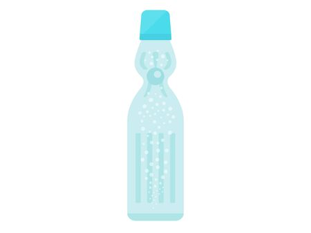 Ramune soda illustrations