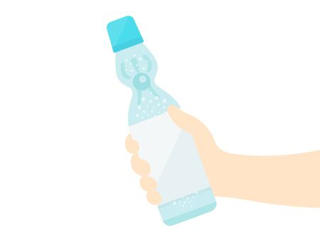Illustration with Ramne soda 向量圖像