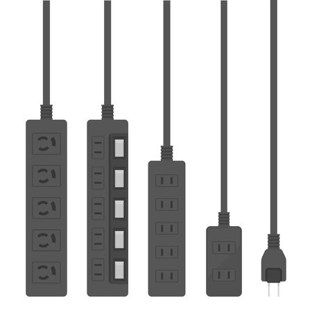 Power Strip Illustration Set