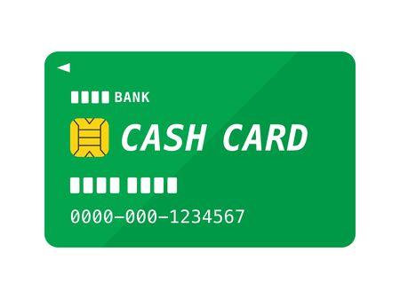 Bank Cash Card Illustrations