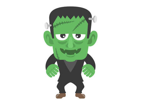 Frankenstein illustrations  イラスト・ベクター素材