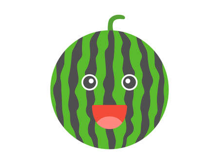 Illustrations of Watermelon Characters