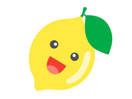 Illustration of Lemon's Character Illusztráció